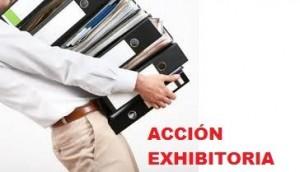 accion exhibitoria