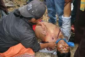 indigena caido