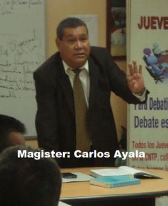 Magister Carlos Ayala 2