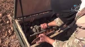 armas recogidas por yihadistas