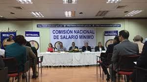comision salario minimo