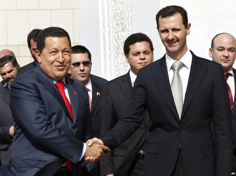 siria y venezuela