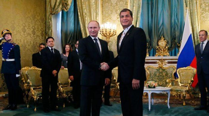 Putin y Correa